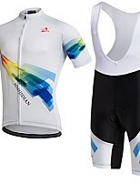 AOZHIDIAN Summer Cycling Jersey Short Sleeves BIB Shorts Ropa Ciclismo Cycling Clothing Suits #AZD136