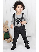 Unisex Casual/Daily Solid Overall & Jumpsuit-Cotton Spring