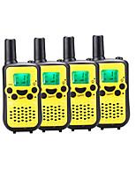 Pmr handy walkie talkie pour les enfants jouant au jardin supermarché voyage dehors avec mains libres 38ctcss jusqu'à 6km