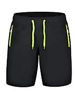 Mulheres Corrida Shorts Secagem Rápida Tecido Ultra Leve Verão Esportes Relaxantes Corrida PoliésterInterior Roupas para Lazer Espetáculo