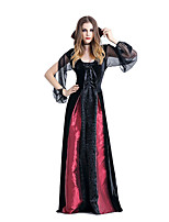 Steampunk® Cheap Cosplay Gothic Female Vampire  Halloween  Queen Costumes