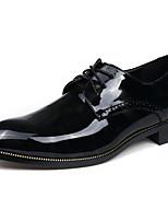 Для мужчин обувь Лакированная кожа Весна Лето Осень Зима Формальная обувь Туфли на шнуровке Назначение Повседневные Для вечеринки / ужина