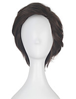 Alicia Marcus Women Unisex Adult Short Wavy Brown Color Movie Cosplay Costume Party Full Wig