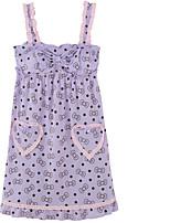 Uniformes & Tenues Chinoises Vêtement de nuit Femme,Imprimé Couleur Pleine-Moyen Coton Aux femmes