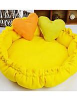 Мягкая кровать любимчика собаки с валиком