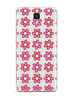 For Xiaomi  Mi 4  Mi 5Transparent Pattern Case Back Cover Case Flower Soft TPU for  Xiaomi Mi 5s Plus mi5s mi4s mi3