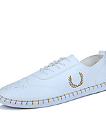 Men's Sneakers Spring Summer Comfort Bullock shoes Light Soles  Outdoor Casual Flat Heel Lace-up Walking Shoes