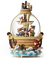 Music Box Mouse Leisure Hobby Novelty Glass