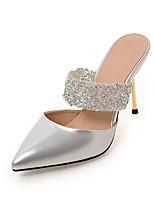Women's Slippers & Flip-Flops Summer Fall Slingback PU Dress Casual Stiletto Heel