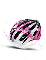 Sports Unisex Bike Helmet 18 Vents Cycling Cycling One Size PC Yellow Red Blue