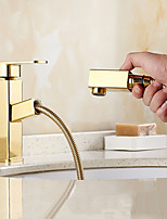 High Quality Ti-PVD Brass Bathroom Basin Faucet - Gold