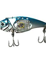 LED Fish-shaped Fish Lasers Underwater Lights Bait LED Electronic Bait Metal Fishing Led Lure 1PC