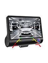 HD с двумя объективами Автомобильный видеорегистратор 1080p камера автомобиля рекордер тире камера G-сенсор видео регистратор видеокамера