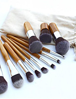 11PS Blush Brush Eyeshadow Brush Lip Brush Brow Brush Concealer Brush Powder Brush Foundation Brush Other Brush Synthetic Hair Professional