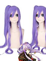 vocaloid kamui gakupo Gackpoid partie longue perruque cosplay cheveux 2 clip ponytails résistant à la chaleur