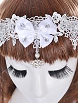 Для женщин Винтаж Очаровательный Для вечеринки На каждый день Заколка,Все сезоны Искусственный бриллиант Ткань Имитация Алмазный