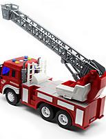 Пожарная машина Игрушки Игрушки на солнечных батареях 1:50 Пластик Серебристый Модели и конструкторы