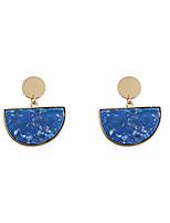 Fashion Women  Semicircle  Acrylic Drop Earrings