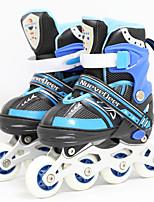 Kinder 72mm Inline-Skates Atmungsaktiv ABEC-7 - Blau/Rosa