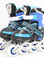 Kid's 72mm Inline Skates Breathable ABEC-7 - Blue/Blushing Pink