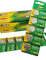 Cr2032 pièce&Bouton cellule lithium batterie 3v 170mah 30 paquet