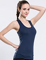LAVIE.Q® Femme Sans manche Course / Running Débardeur Respirable Séchage rapide Eté Vêtements de sport Exercice & Fitness Nylon Mince Mode