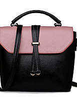 Women Tote PU All Seasons Formal Casual Event/Party Wedding Office & Career Saddle Zipper Red Black