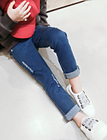 Girls' Casual/Daily Solid Pants Spring