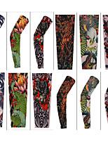 Návleky na ruce Kolo Rychleschnoucí Odolný vůči UV záření Ochranný Pohodlné Proti sluci Unisex Tmavě zelená Nylon elastan