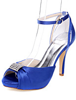 Women's Heels Spring Summer Fall Comfort Fabric Wedding Party & Evening Dress Stiletto Heel