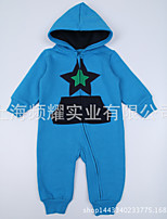 Baby Formal Patchwork One-Pieces,Wool Spring Long Sleeve