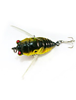 2 pcs Minnow Random Colors 6 g Ounce mm inch,Plastic General Fishing