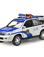 Police car Pull Back Vehicles 1:32 Metal