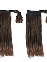 Synthetic Ponytail Hairpiece Synthetic High Temperature Wire Women 16 Inch Hair Extension