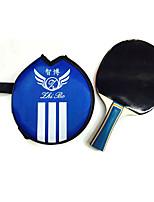 3 Звезд Ping Pang/Настольный теннис Ракетки Ping Pang Резина Короткая рукоятка Прыщи 1 Ракетка В помещении Выступление Активный отдых