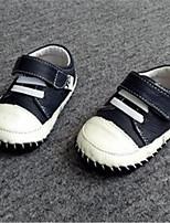 Черный-Девочки-Для прогулок Повседневный-Полиуретан-На плоской подошве-Удобная обувь-Кеды