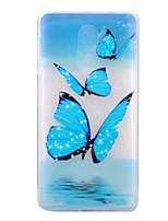 Для Ультратонкий С узором Кейс для Задняя крышка Кейс для Бабочка Мягкий TPU для Huawei Huawei P8 Lite (2017) Huawei Honor 6X