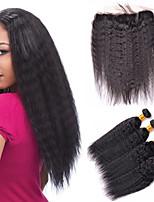 One Pack Solution Cheveux Brésiliens 12 mois 5 Pièces tissages de cheveux
