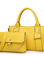 Women PU Formal Sports Casual Event/Party Wedding Outdoor Office & Career Bag Sets