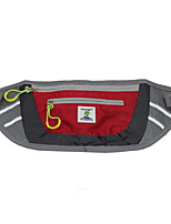 Outdoor Waist Packs Bags Sport Running With Pet Dog Reflective Nylon Travel Belt Bag