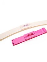1 Set New Women Girl Hair Trimmer Fringe Cut Tool Clipper Comb Guide For Cute Hair Bang Level Ruler Hair Accessories Color Random