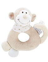 The French Baby Puzzle Plush Doll Hand rattles newborn baby toys