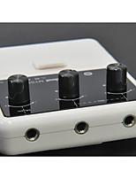 Professionnel Accessoires généraux Haute société Guitare nouvel instrument Plastique Accessoires d'Instrument de Musique  Blanc