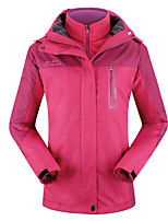 Women's Winter Jacket 3-in-1 Jackets Skiing Camping / Hiking Snowsports Waterproof keep warm Thermal / Warm Windproof
