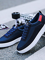 Men's Sneakers Spring Summer Fall Winter Comfort Suede Tulle Outdoor Athletic Casual Walking