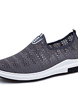 Men's Sneakers Spring Summer Hole Shoes Tulle Outdoor Athletic Casual Flat Heel Running