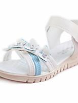 Women's Sandals Summer Mary Jane Leatherette Outdoor Dress Flat Heel Applique Walking