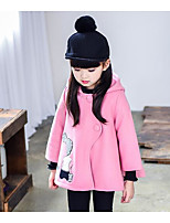 Girls' Casual/Daily Solid Suit & Blazer,Cotton Spring Fall Long Sleeve