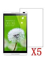 5pcs transparent lcd écran protecteur film protecteur pour tablette pc 8 huawei mediapad m1 / s8-303