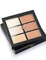 Natural Professional Concealer 6 Colors Contour Palette Makeup Foundation Base Face Cream Cosmetic Make Up Bronzer Color Primer